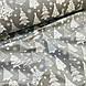 Ткань хлопковая, белые Новогодние елки на сером, фото 4