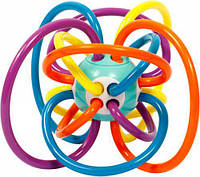 """Погремушка для детей """"Кольца"""" (фиолетовый)  sco"""