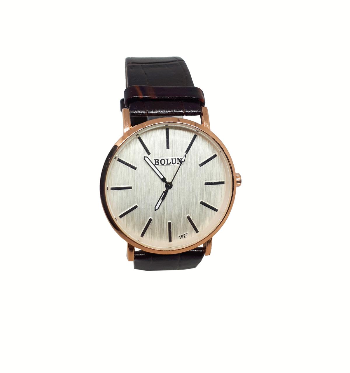 Мужские часы Bolun 1027 Коричневый