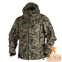 Куртка флисовая Helikon-Tex® PATRIOT Jacket - Double Fleece - PL Woodland XL
