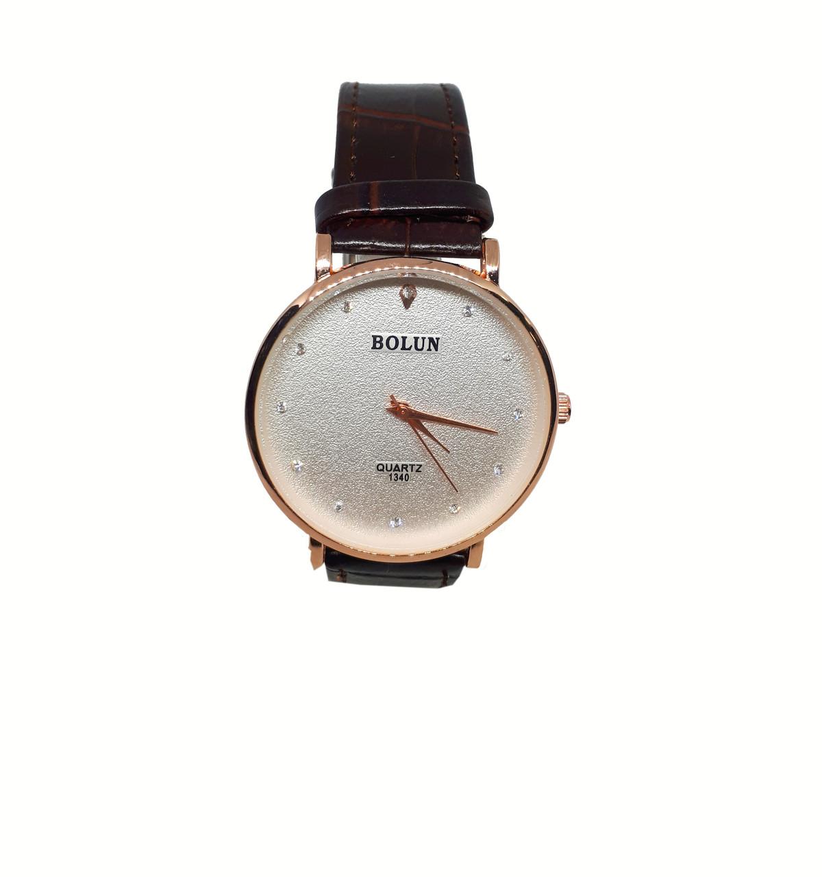 Мужские часы Bolun 1340 Коричневый