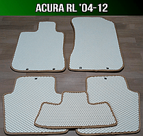 ЕВА коврики на Acura RL '04-12. Ковры EVA Акура РЛ