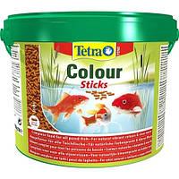 Корм для прудовых рыб Tetra Pond Colour Sticks 10л/1900гр (для усиления окраса)