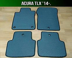 ЕВА коврики на Acura TLX '14-. Ковры EVA Акура ТЛХ