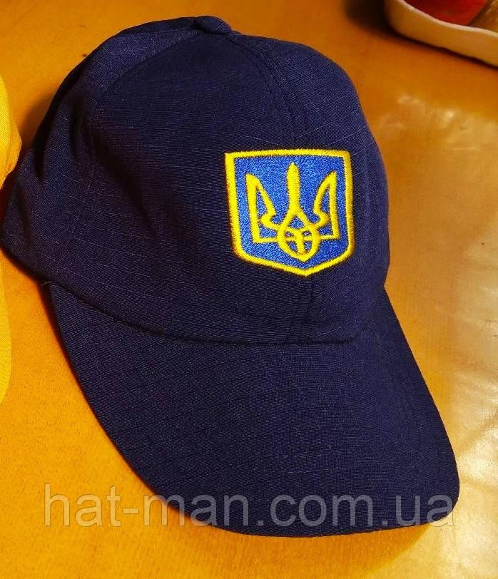 Блайзер з українською символікою, синій