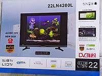 Телевизор Domotec TV 22'' 22LN4200L 12v/220v DVB T2, фото 1