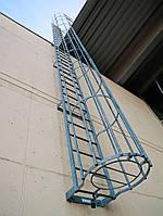 Вертикальная Пожарная Лестница №3 наружная
