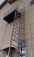 Вертикальная Пожарная Лестница №4 наружная