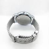 Мужские наручные часы Emporio Armani (Эмпорио Армани), серебро с черным циферблатом, фото 4