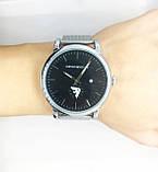 Мужские наручные часы Emporio Armani (Эмпорио Армани), серебро с черным циферблатом, фото 6