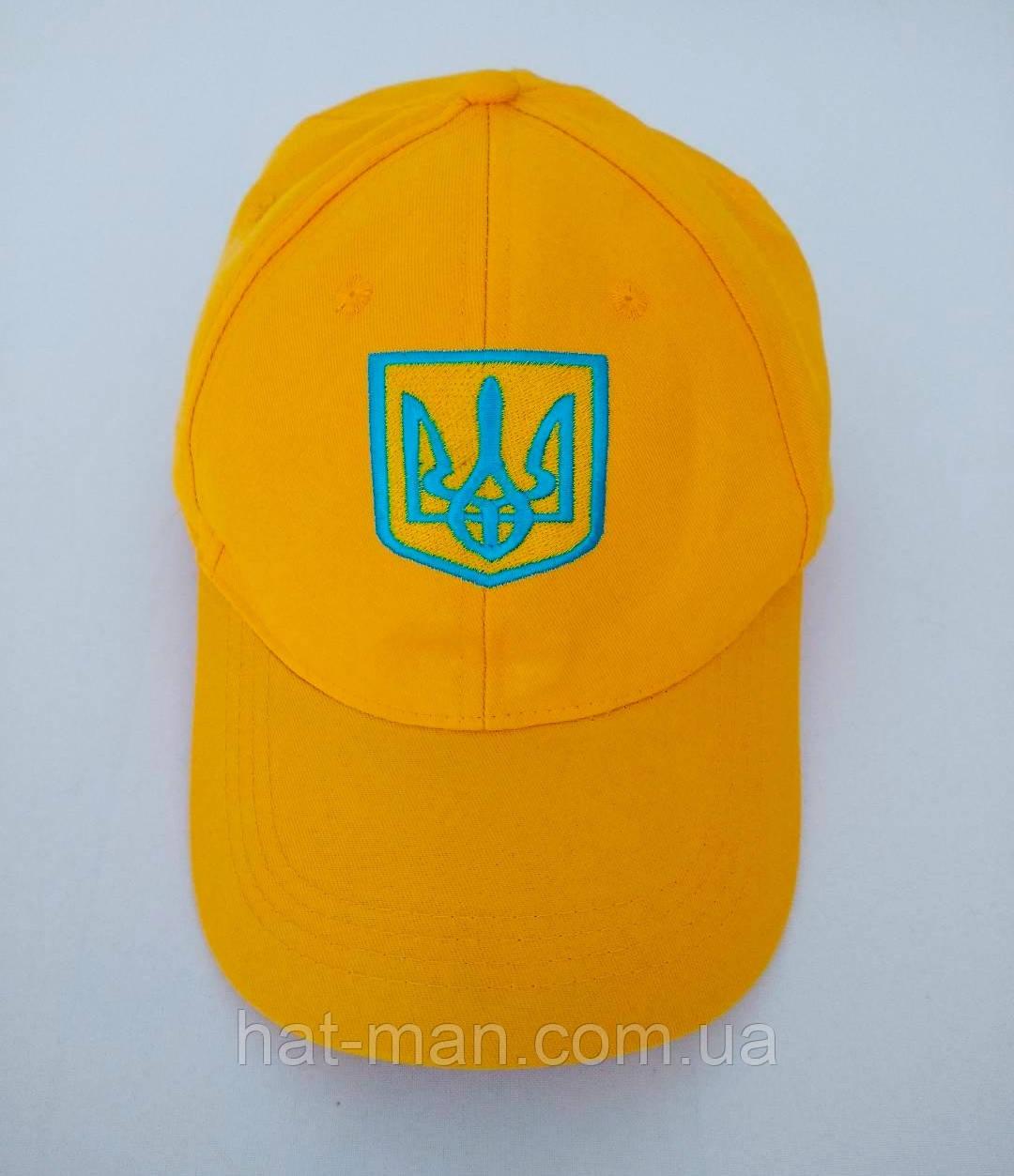 Блайзер з українською символікою, жовтий