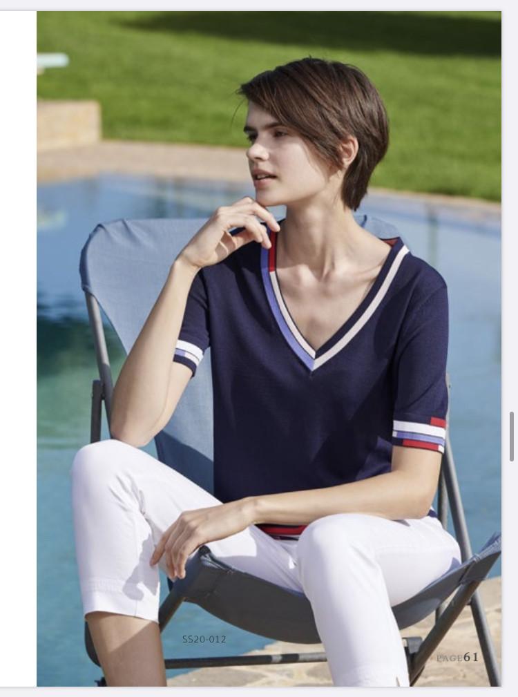 Женская стильная кофта, Marina V SS20-012