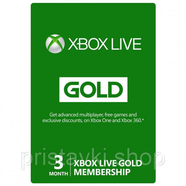 XBOX Live Gold  3 місяці ключ
