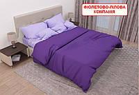 Односпальний комплект постільної білизни - Фіолетово-лілова компанія