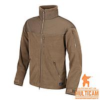 Куртка флисовая Helikon-Tex® CLASSIC ARMY Jacket - Fleece - Coyote