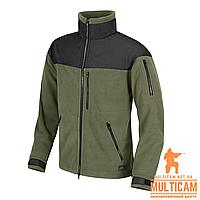 Куртка флисовая Helikon-Tex® CLASSIC ARMY Jacket - Fleece - Olive/Black
