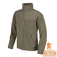 Куртка флисовая Helikon-Tex® CLASSIC ARMY Jacket - Fleece - Olive Green