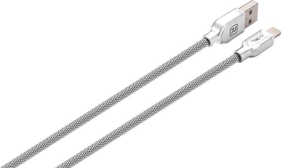 Кабель USB Lightning Armor Recci RCL-T100-Silver