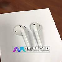 Беспроводные наушники Apple AirPods 2 Bluetooth 5.0 гарнитура с кейсом для подзарядки белые