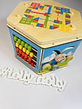 Деревянный логический куб C 31353, фото 6