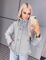 Зимняя курточка - куртка светоотражающая. Куртка короткая зима