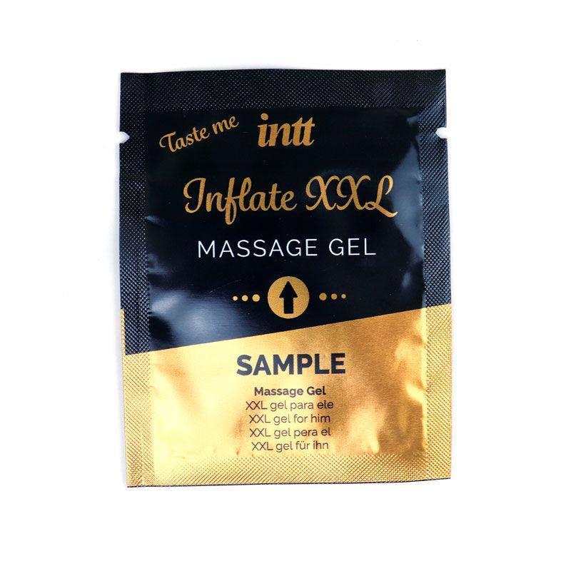 Пробник геля для увеличения члена Intt Inflate XXL, 2 мл