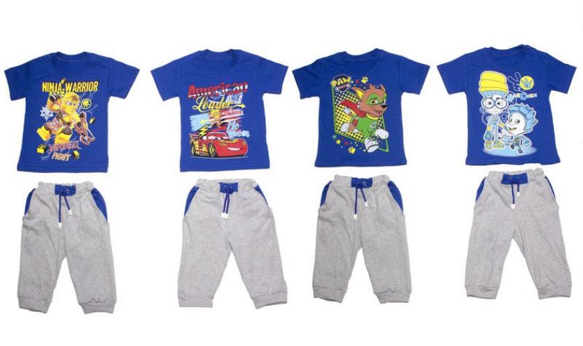 Детский костюм для мальчика, Детки-Текс, рр. 92-98, арт. 3709 САЛАТОВЫЙ