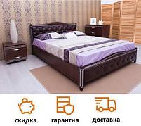 Кровать Прованс с подъемным механизмом, мягкая спинка ромбы фабрика Олимп
