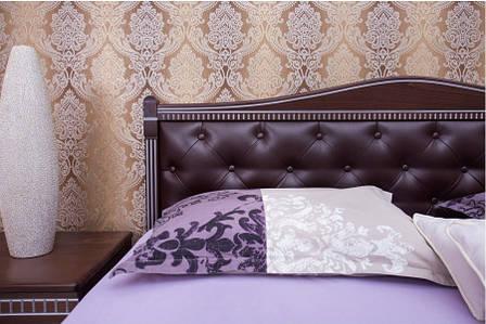 Кровать Прованс с подъемным механизмом, мягкая спинка ромбы фабрика Олимп, фото 2