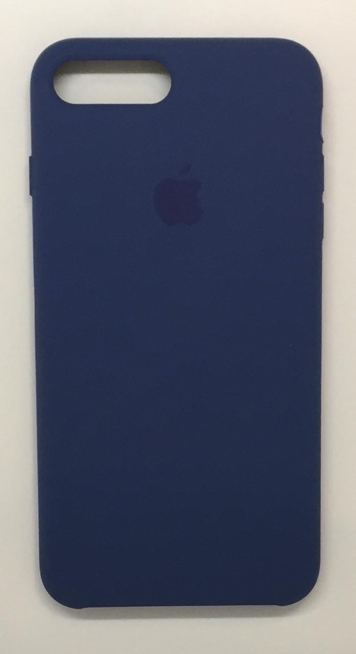 "Чехол Silicon iPhone 7 - ""Alaska blue №57"""