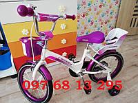 """Детский двухколесный  велосипед KIDS BIKE CROSSER 16""""  Кроссер Кидс Байк для девочки"""