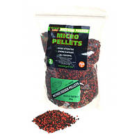 Пеллетс ТехноКарп Method Feeder Micro Pellets Krill & Halibut mix 750g