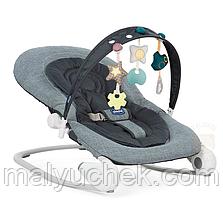 Кресло-качалка Chicco Hoopla Dark Grey