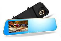 Видеорегистратор-зеркало с двумя камерами DVR DV460 Черный (au1687i4110)