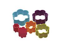 Набор формочек для печенья KitchenCraft CW Цветочки 6 шт Разноцветный (174635)