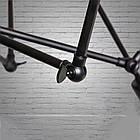 """Люстра """"паук"""" в стиле лофт на 12 ламп СветМира (черная) D-0321-12 BK, фото 3"""