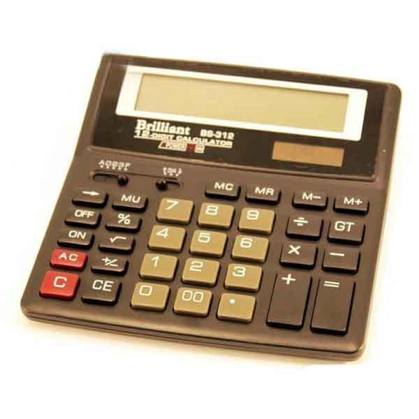 Калькулятор Brilliant BS-312 (15х15см)