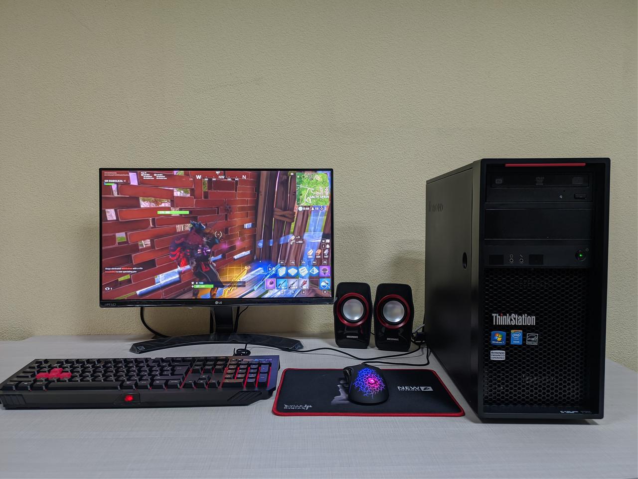 Игровой компьютер PUBG, Fortnite! Core i5-4570/16Gb/SSD120Gb+HDD 1Tb/GTX1070