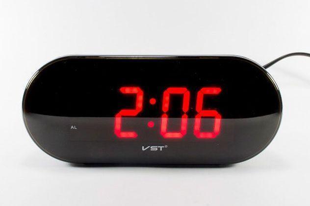 Электронные настольные часы VST-717