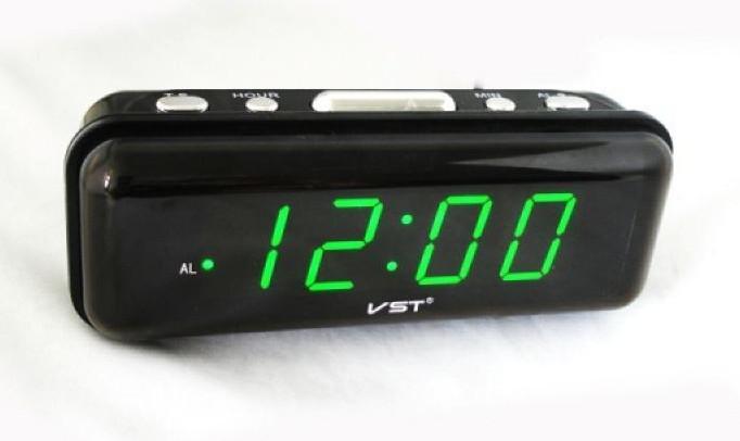 Электронные настольные часы VST-738