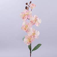 Орхидея 75 см. розово персиковая Цветы искусственные