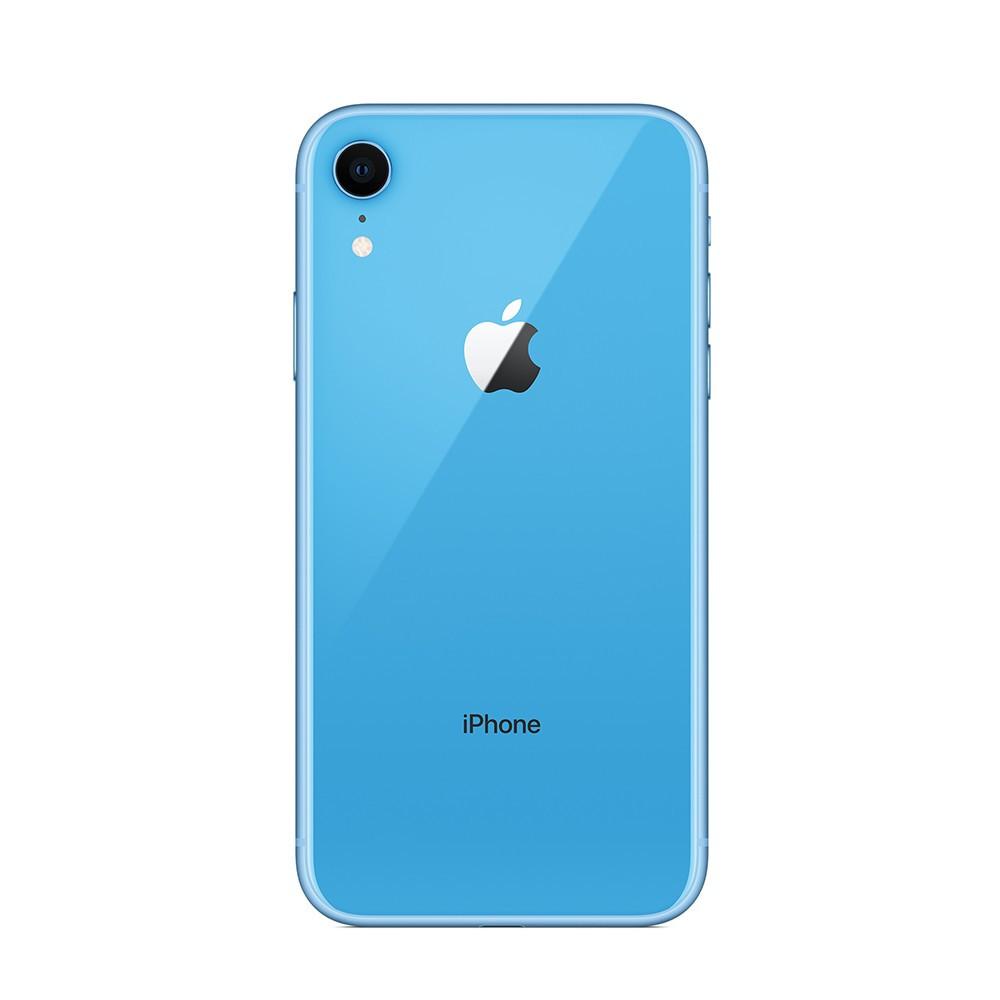 Задняя крышка для iPhone XR, голубая, Оригинал
