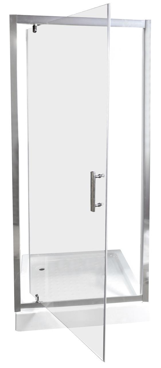 Душова двері 190x80 SDKT 108/6 прозора
