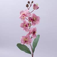Орхидея 75 см. грязно-розовая Цветы искусственные