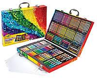 Crayola Inspiration Art Case повреждена упаковка Набор для рисования Крайола Crayola 140 предметов