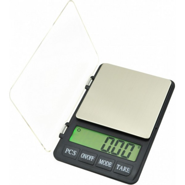 Весы карманные ювелирные MH999 (0,1-3000) с LCD дисплеем и высокоточными датчиками Ming Heng