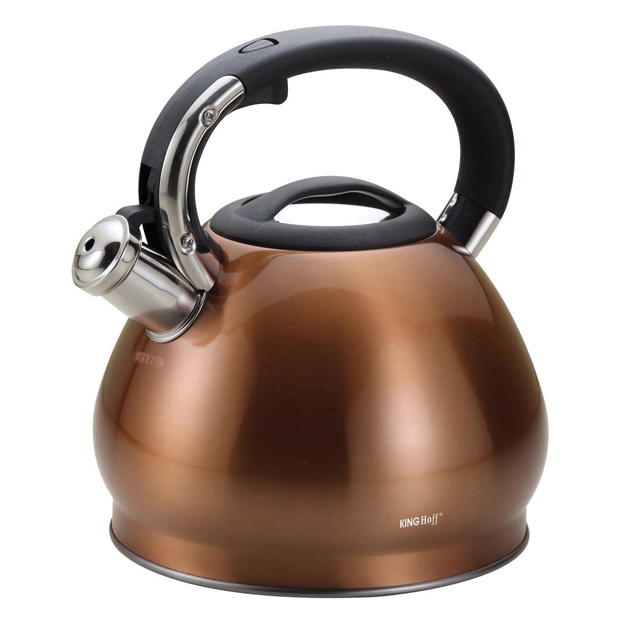Чайник со свистком 3.4 л KingHoff KH-1213