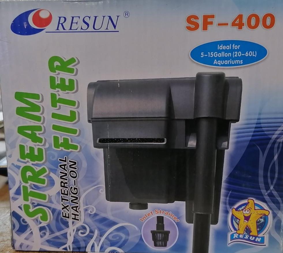 Resun SF-400 - навісний фільтр для акваріума до 80 л