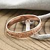 Кольцо Xuping Спаси и Сохрани 15176 размер 19 ширина 4 мм вес 1.6 г позолота РО, фото 2
