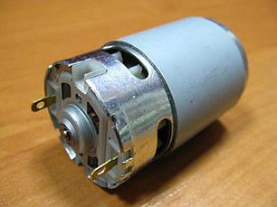 Двигатель шуруповерта 12В без шестерни вал 3,2 мм шлиц, фото 2